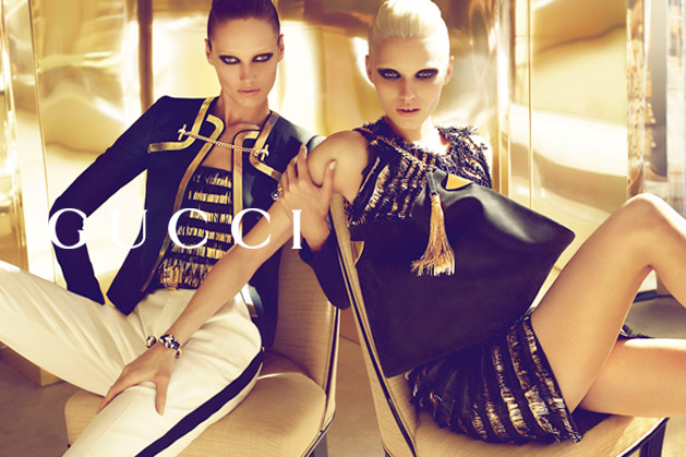 gucci4 Abbey Lee Kershaw & Karmen Pedaru for Gucci Spring 2012 Campaign by Mert & Marcus