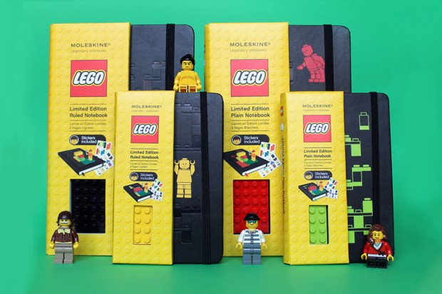 lego moleskine notebooks collection 1 620x413 LEGO x Moleskine Notebooks Collection