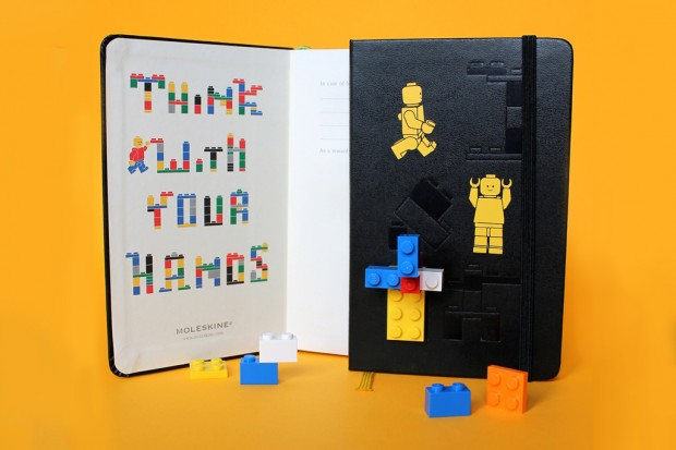 lego moleskine notebooks collection 2 620x413 LEGO x Moleskine Notebooks Collection