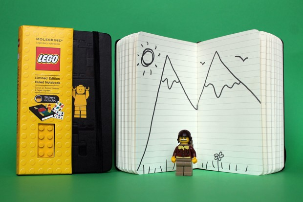 lego moleskine notebooks collection 3 620x413 LEGO x Moleskine Notebooks Collection