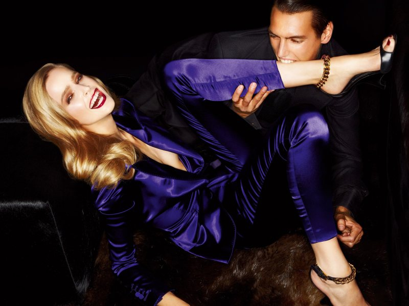 tomford1 Mirte Maas for Tom Ford Spring 2012 Campaign