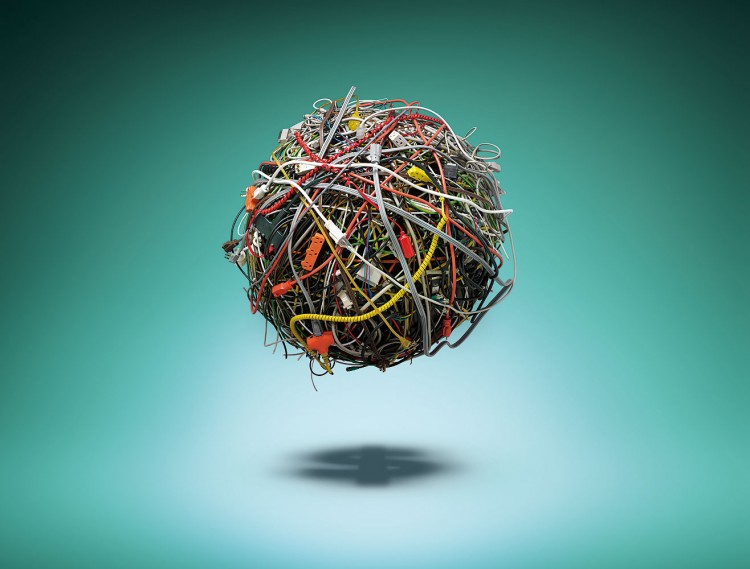 wire ball13 750x569 Incredible Commercial Advertising Works by Christian Stoll