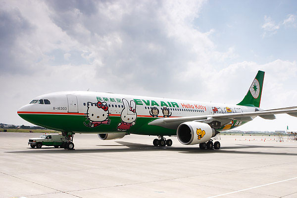 485 Hello Kitty Air Jet by EVA Airways