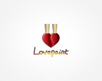 51.heart logo 52 Creative Examples of Heart Inspired Logo Designs