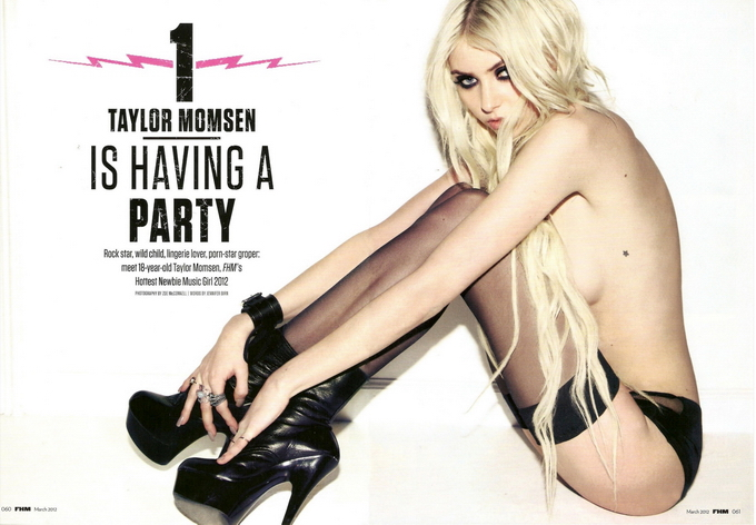 8f493 TaylorMomsenFHM00 Taylor Momsen Covers FHM March 2012