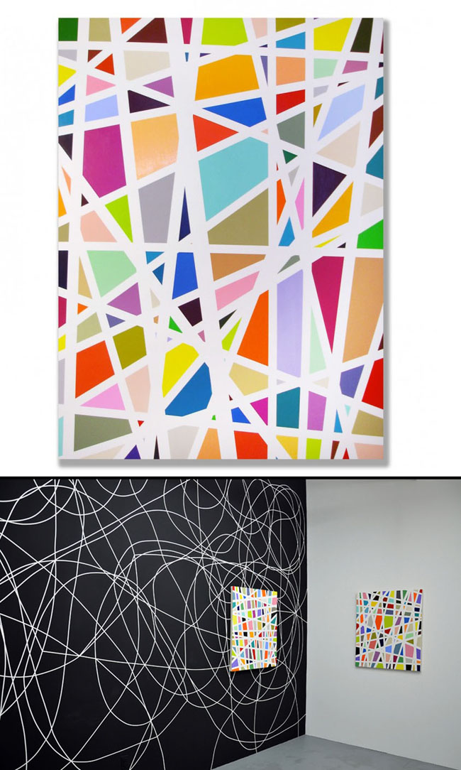 KyleJenkinsAbstract collabcubed Colorful Abstract Paintings