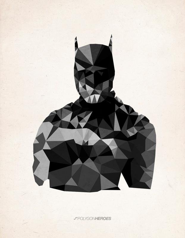 Polygon Heroes by James Reid 2 Polygon Heroes by James Reid