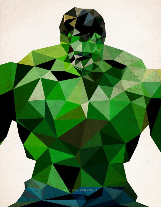 Polygon Heroes by James Reid Polygon Heroes by James Reid
