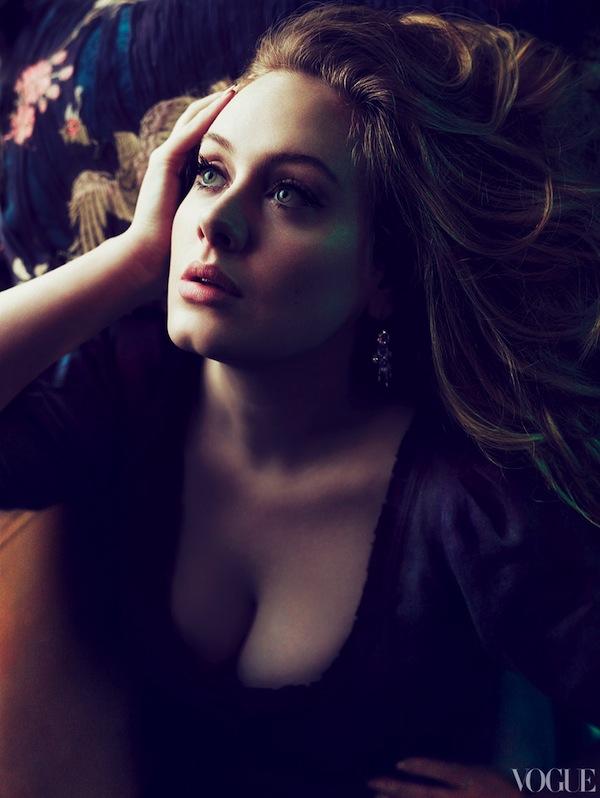 adele vogue us march 2012 mert marcus 7 Grammy Girl