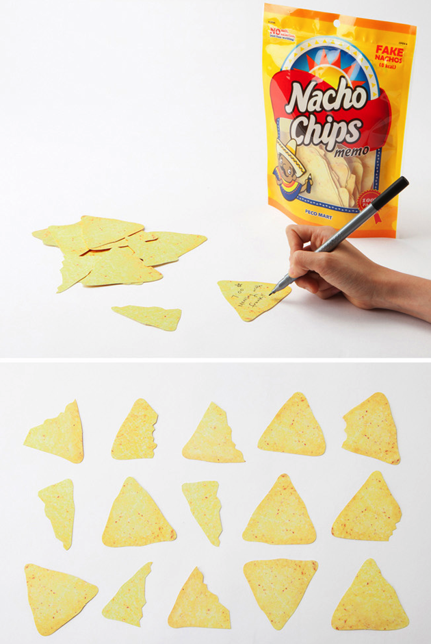 feeldesain chips memo 2 Memo Snack!!