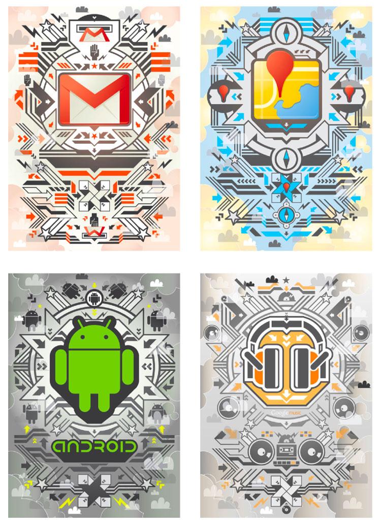 googleposters Google x Collabo Arts