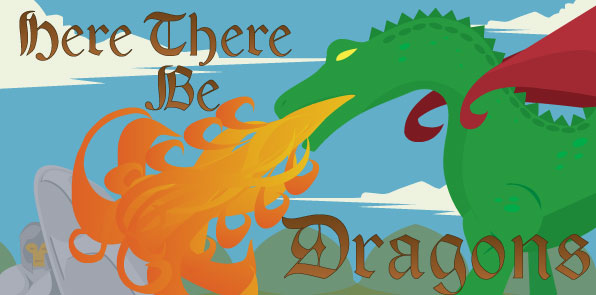 heretherebedragons big Here There Be Dragons! Dealing with Nightmare Clients & Challenges As A Freelance Designer