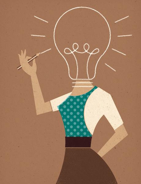 i1a36 Retro illustrations by Zara Picken
