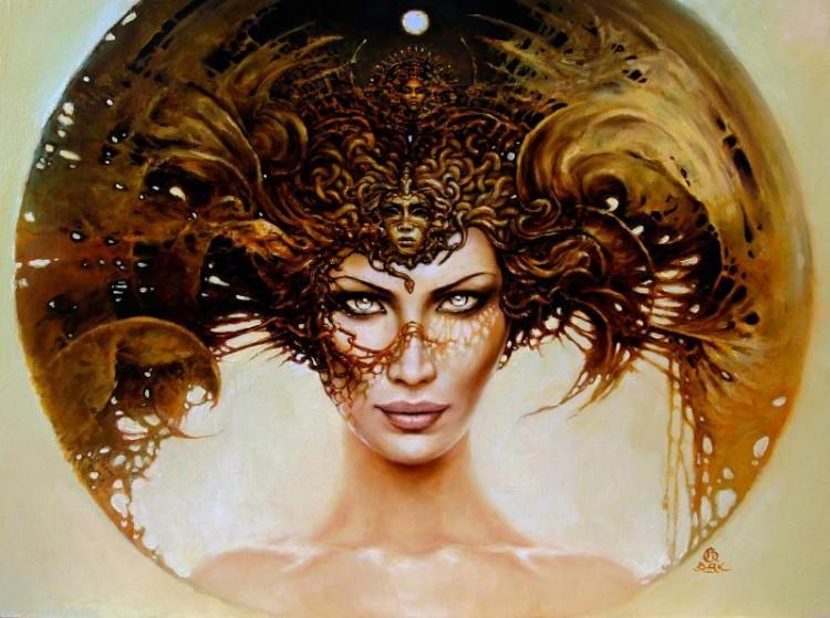 meduza cykl aureole 2011 olej deska 40x50cm11 750x559 20 Elegant Examples of Traditional Art by Karol Bak