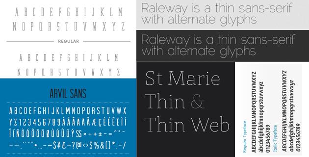 minimal font open 5 Free Minimal Fonts   Download