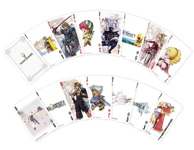 square9 playing cards Final Fantasy 25th Anniversary Playing Cards