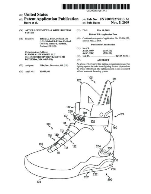tumblr lyqc5ejS1t1qiqf01o1 500 Nike Air Mag Original Patent