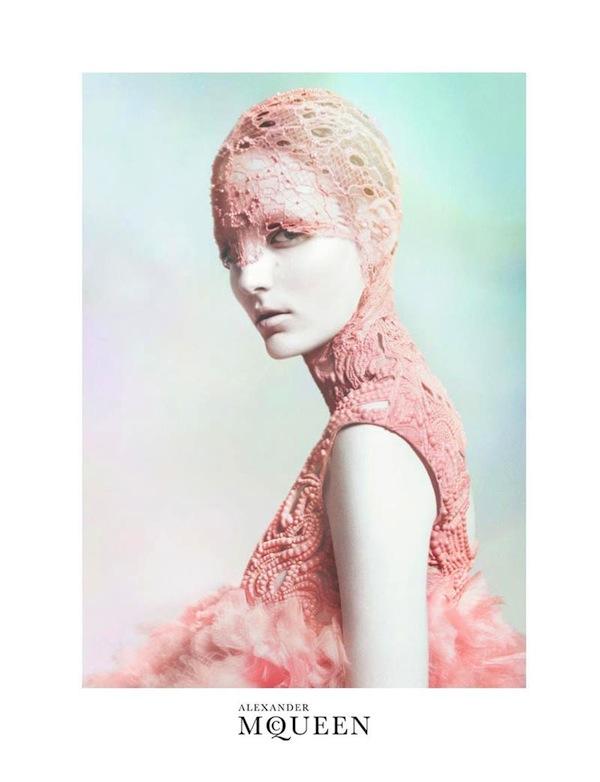 zuzanna bijoch alexander mcqueen spring 2012 ad campaign david sims 3 McQueen's Angel