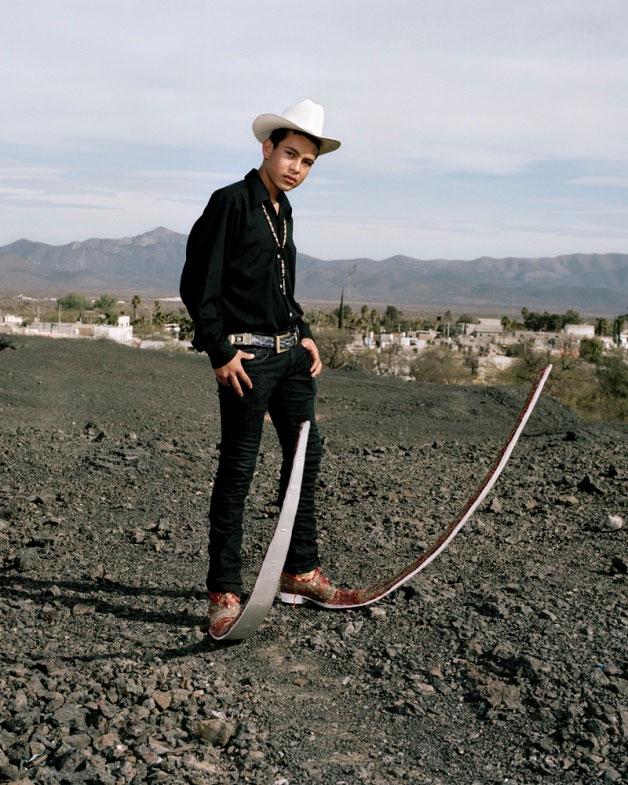Botas picudas sensacion en Mexico....