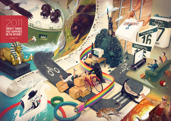 Digital art selected for the Daily Inspiration #1077