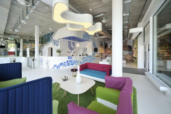 Awesome Unilever Office Interior Decoration by Camenzind Evolution © Soguel Fotograf Cool Unilever Office Interior Decoration by Camenzind Evolution