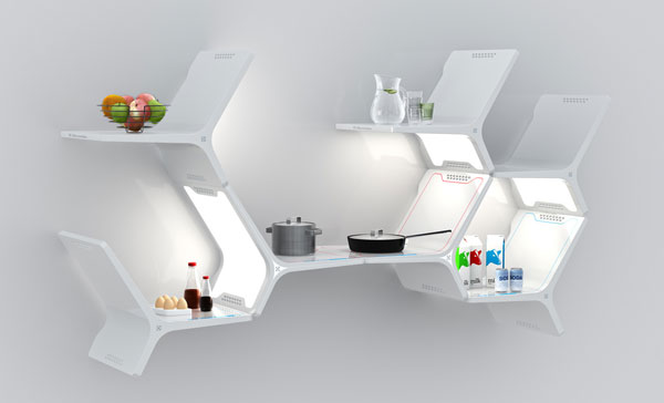 Elements Modular Kitchen by Matthew Gilbride Will this be the Future of Kitchen Technology ?