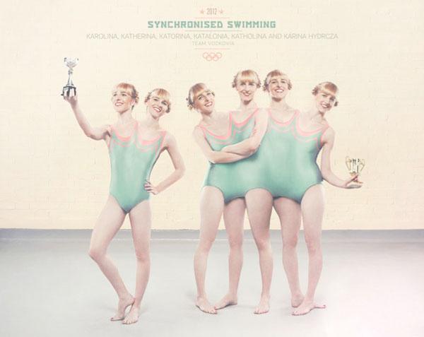 Vodkovias Olympic Team Synchronised Swimming Vodkovia's Olympic Team
