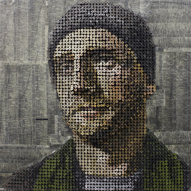 andrewmyers01 Amazing 3D Screw Portraits