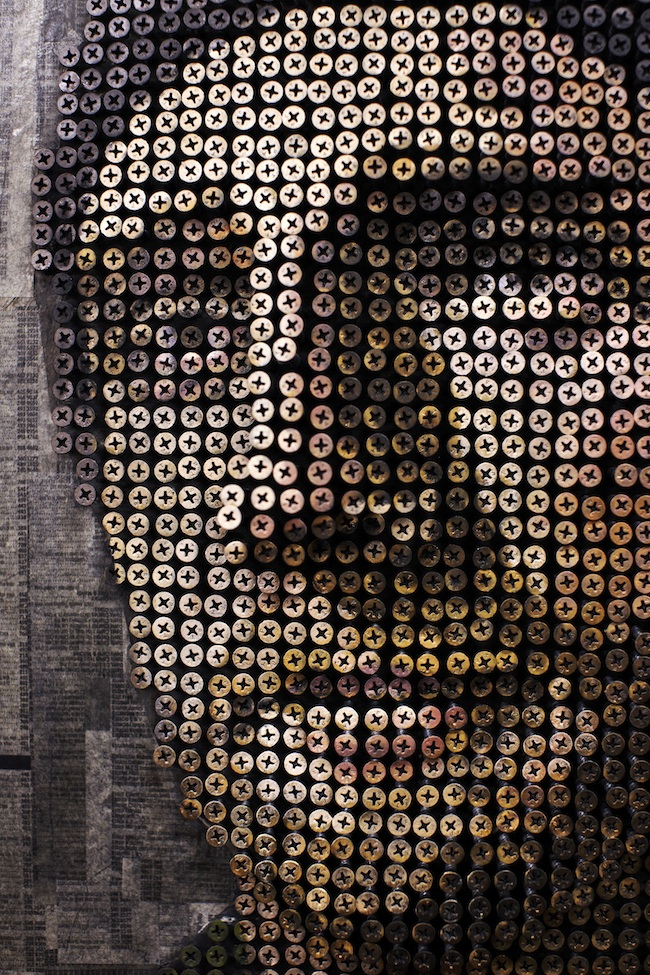andrewmyers03 Amazing 3D Screw Portraits