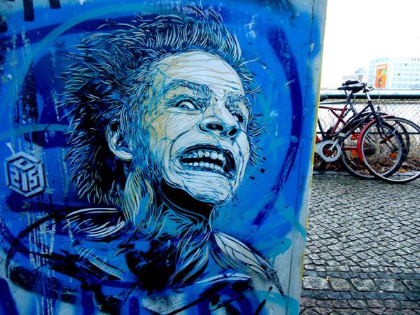 c215 31 Graffiti Stencil Art by Street Artist C215