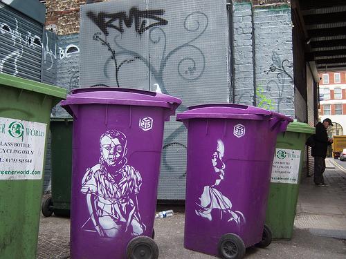 france c2151 Graffiti Stencil Art by Street Artist C215