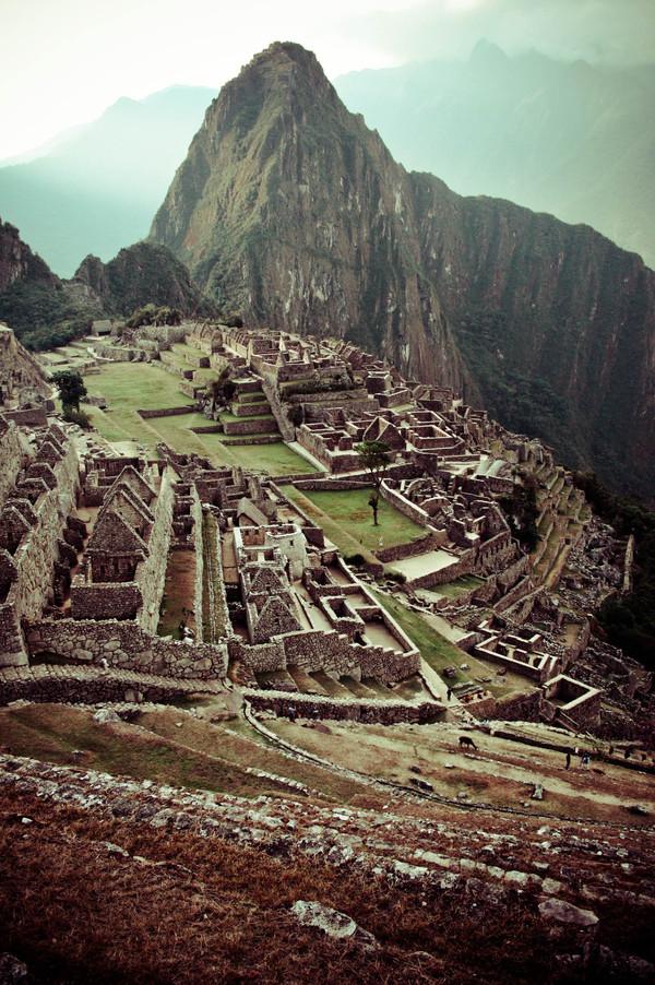 i1a163 Machu Picchu by Basia Asztabska