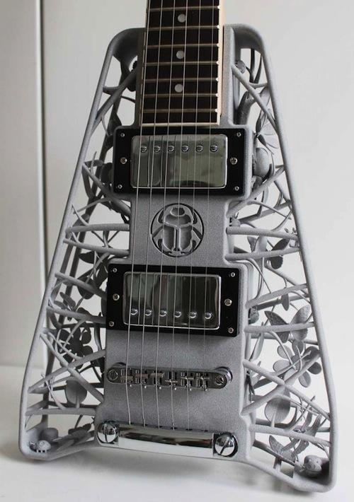 Rockin' 3D printed guitars