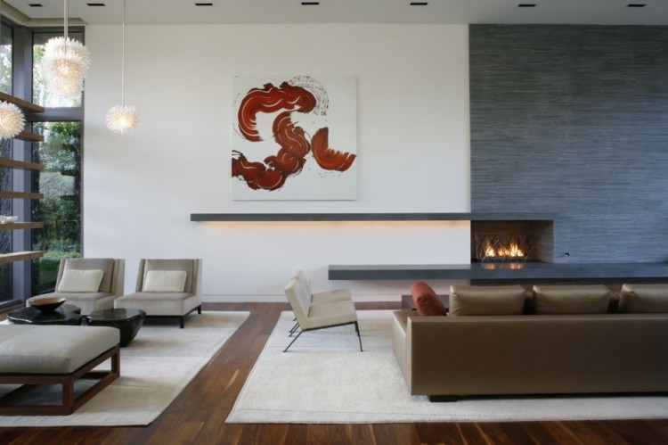 Brentwood Residence Interiors by MLK Studio