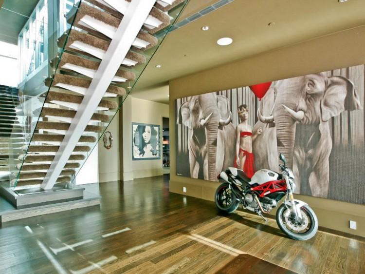 107 750x562 Alicia Keys & Swizz Beatz's SoHo Penthouse