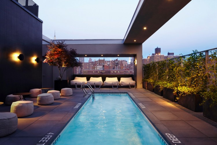 12hotelamericanoblackerbycustom5 750x500 Hôtel Americano in New York