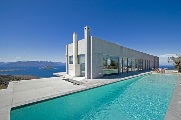 Residence in Aegina island by Konstantinos Kontos