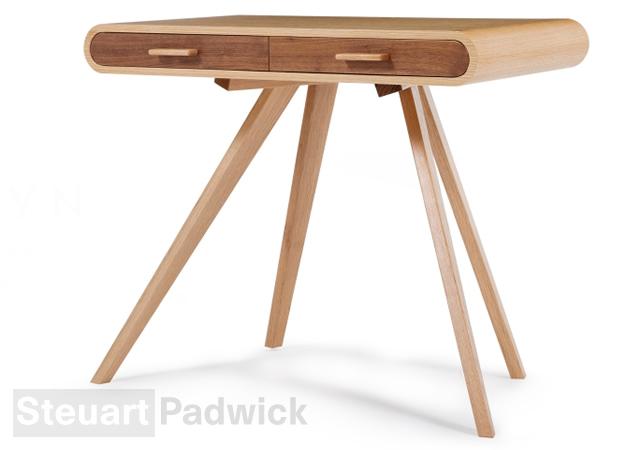 1o15 Fonteyn desk by Steuart Padwick