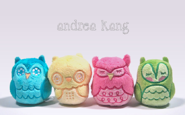 1o24 Soft Toy Design by Andrea Kang