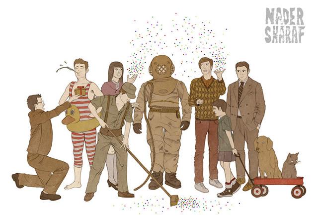 1o28 Illustrations by Nader Sharaf