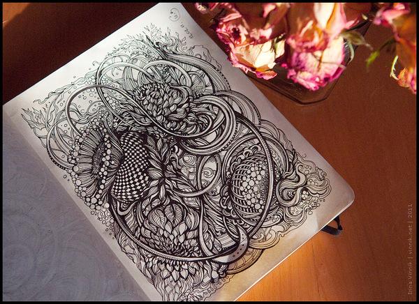 531c4eaf8a6a331fe9cc87834e11561c11 Sketchbook Illustration Drawings by Irina Vinnik