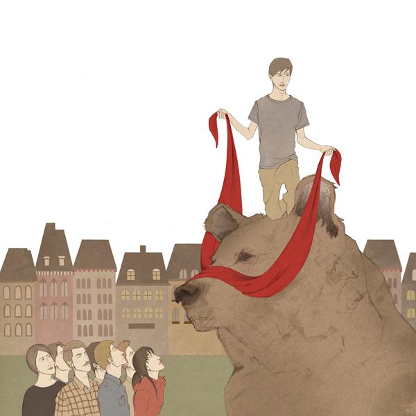 5o Illustrations by Nader Sharaf