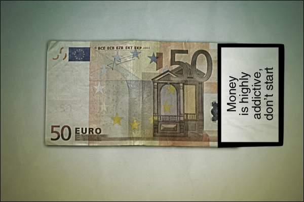 Anti Money Campaign 50 Euro Anti Money Campaign