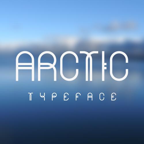 Arctic Typeface ARCTIC   $10 Font