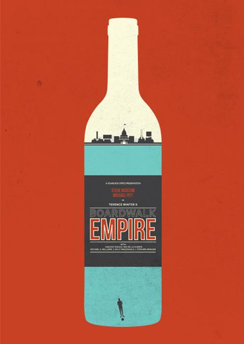 BOARDWALKposters Mad Men / Breaking Bad / Dexter / Boardwalk Empire prints by @needledesign