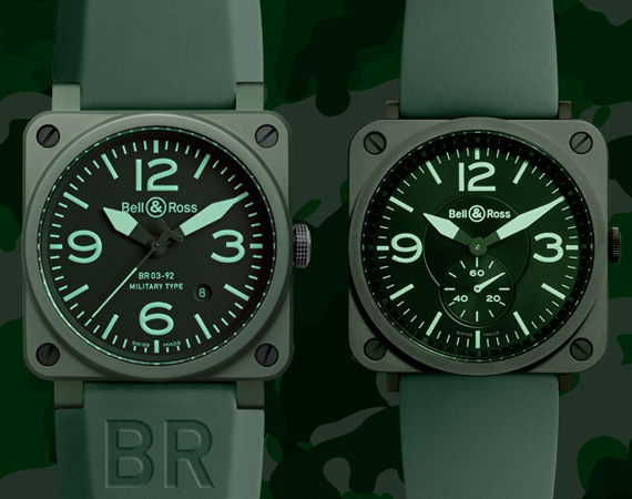 Bell x Ross BR 03 92 x BR S – Military Ceramic Watch Pack Bell & Ross BR 03 92 x BR S – Military Ceramic Watch Pack
