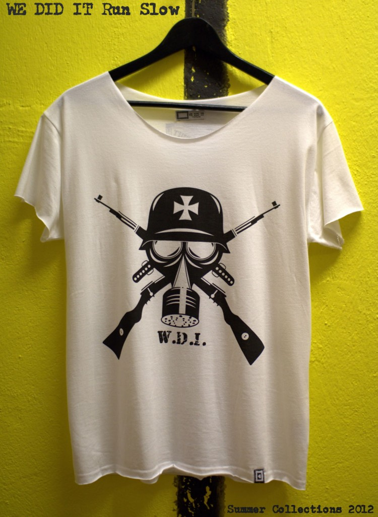 Gas Mask Nation W.D.I. UK White DYT 750x1027 Gas Mask Nations | Summer Collections 2012 | WE DID IT original UK