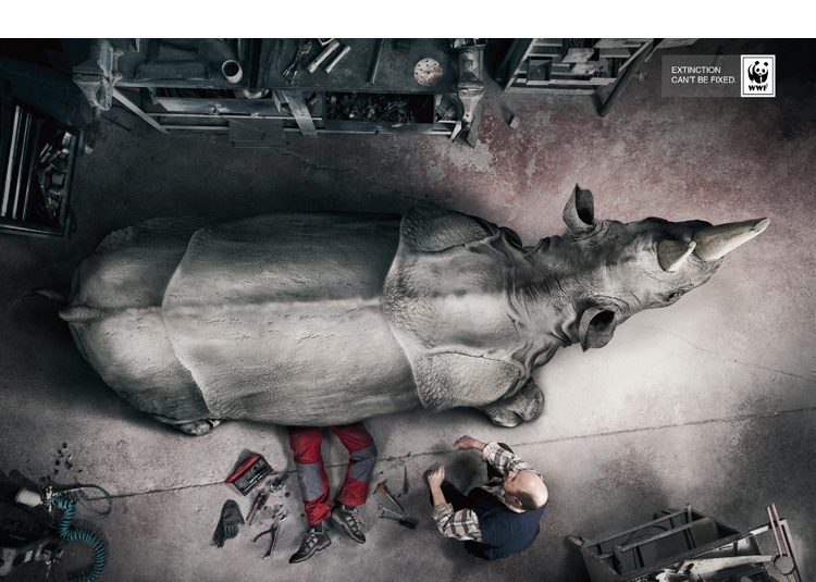 Gonsago Manso wwf rino Extinction cant be fixed   WWF advertising