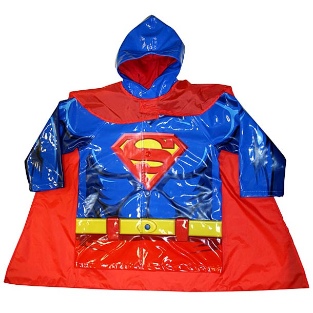 Kids Superhero Raincoats 4 Kids Superhero Raincoats