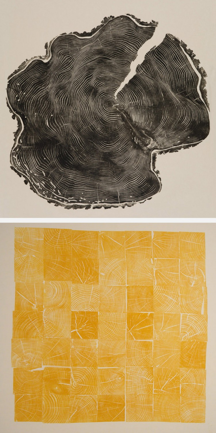 Woodcuts Gill collabcubed 750x1498 Tree Woodcuts